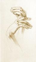Leonardo's hands
